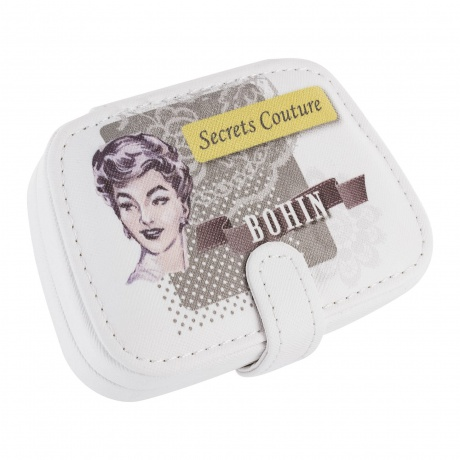 Trousse secret de couture grise garnie 3b com for Trousse couture garnie