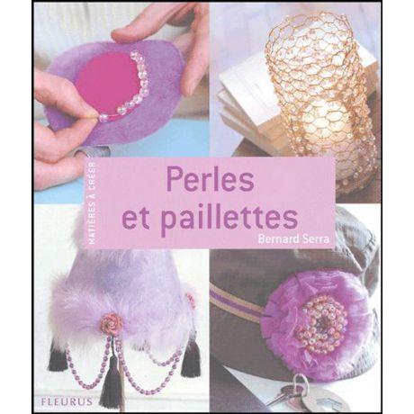 Livre perles et paillette