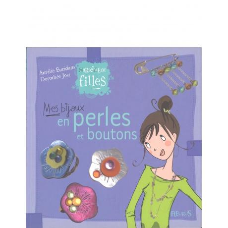 Livre bijoux en perles et boutons