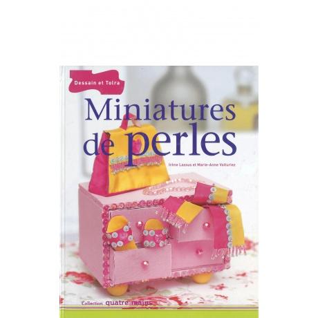 Livre miniatures en perles