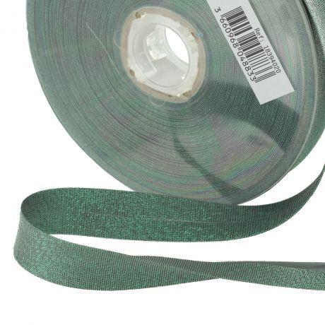 Biais lamé 40/20 vert
