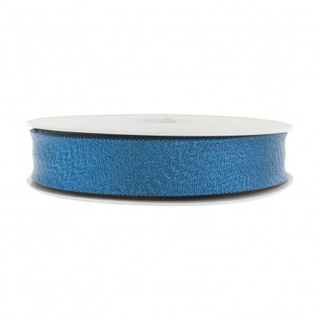 Biais pré-plié lamé 40/20 mm bleu jean