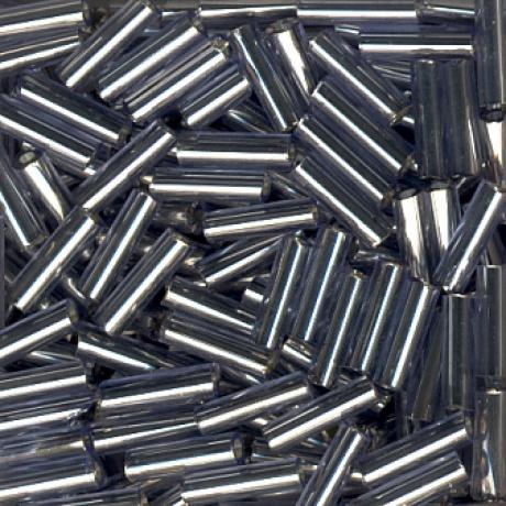 Perle tube métal 6mm -blister 30grs-