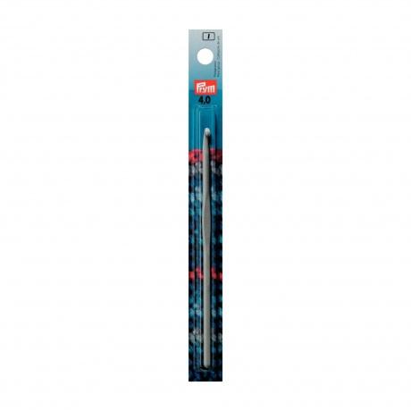Crochet aluminium pour laine 15cm n°4