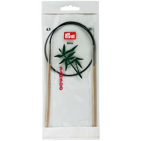 Aiguille circulaire bambou 60cm n°4,5