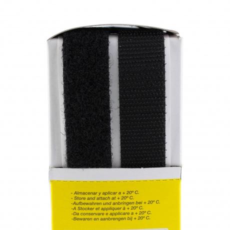 Ruban de la marque Velcro® -adh.2f- 20mm noir