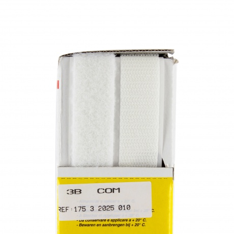 Ruban de la marque Velcro® -adh.2f- 20mm blanc