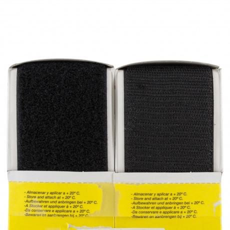 Ruban de la marque Velcro® -adh.2f- 50mm 5m noir