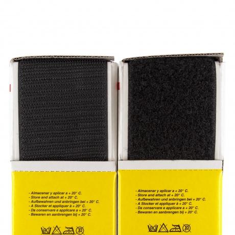Ruban de la marque Velcro® -adh.2f- 50mm 25m noir
