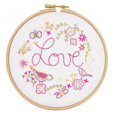 Love love love kit à broder