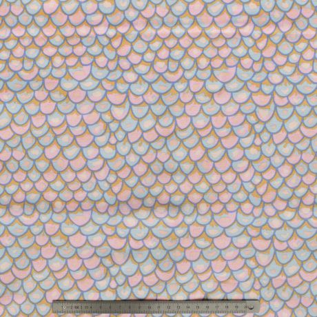 Tissu shingles pastel