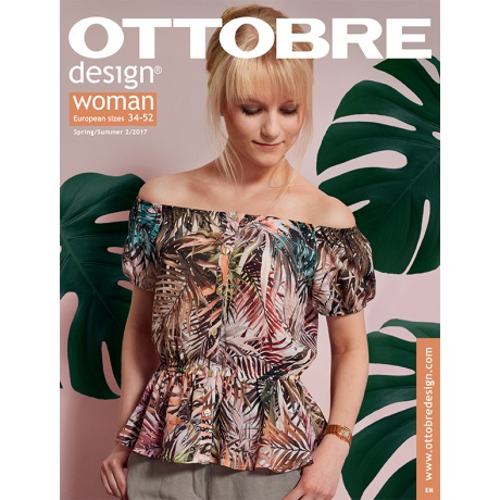 Ottobre Design® femme T34-52 print/été 2017