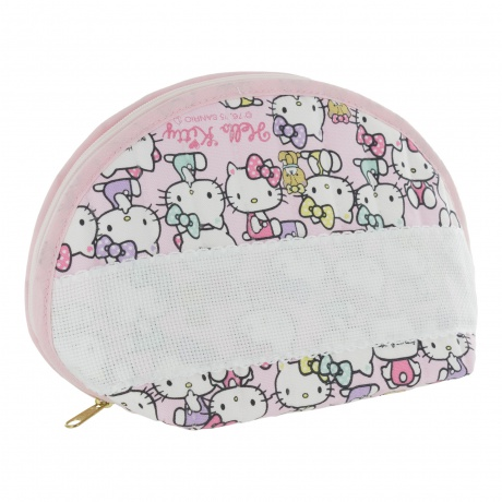 Trousse à broder motif Hello Kitty