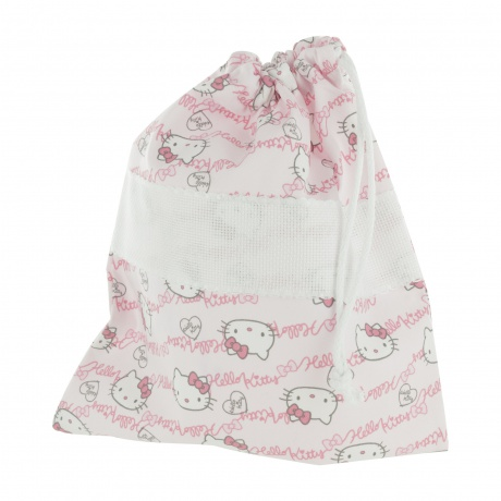 Poche à broder motif Hello Kitty