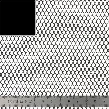 Tissu filet Mesh Fabric noir
