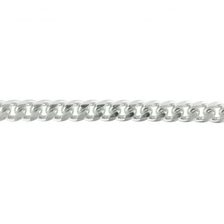 Chaine alu 8mm argent