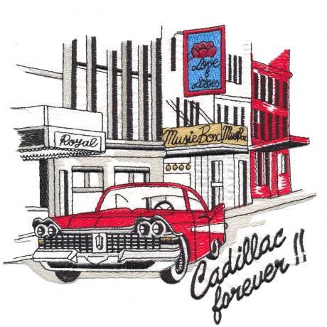 Thermocollant Cadillac 17 x15 cm