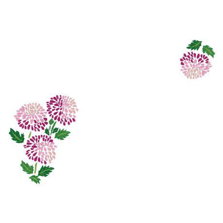 Napperons non bordés - cb coton blanc