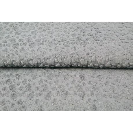 Fantasy knitwear jacquard towel Stenzo gris
