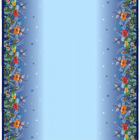 Jersey Stenzo digital border print