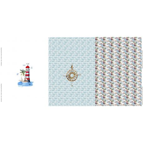 Panneau jersey Stenzo 75x150cm digital print sailo
