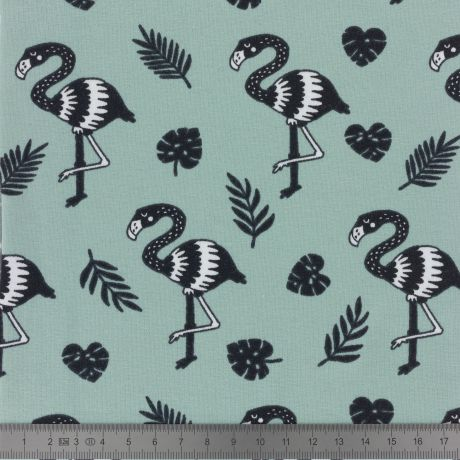 Jersey Stenzo print flamingo