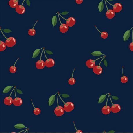 Jersey Stenzo print small cherries