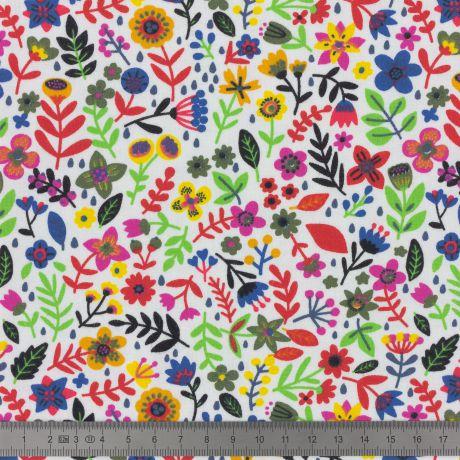 Jersey Stenzo print small flowers