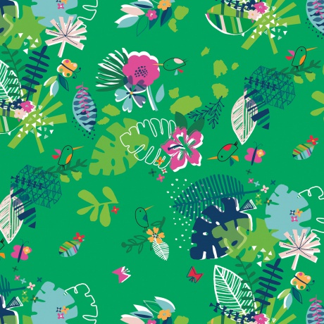 Tissu Dashwood club tropicana