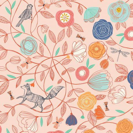 Tissu Dashwood boho meadow