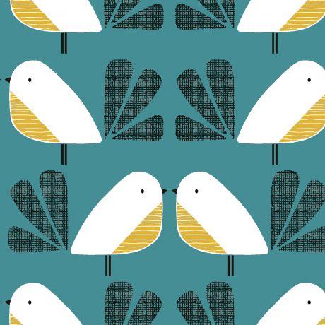 Tissu Dashwood nesting birds