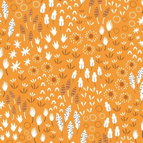 Tissu Dashwood ditsies garden apricot