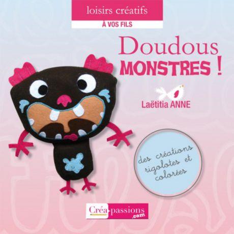 Doudous monstres livre Créapassions