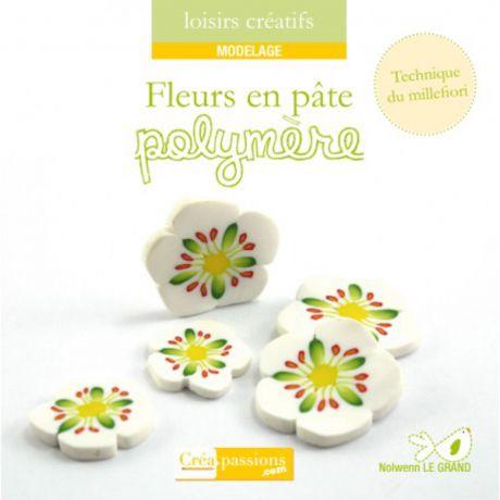 Fleurs en pâte polymère