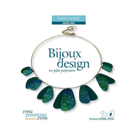 Bijoux design en pâte polymère