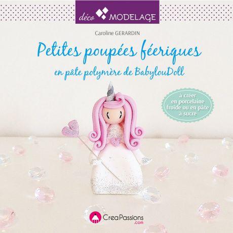 Petites poupées féériques en porcelaine froide