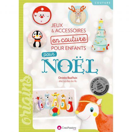 Jeux et accessoires en couture pour enfants p/noël