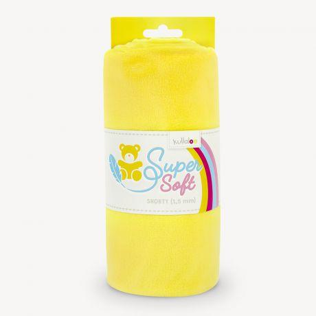 Tissu peluche Kullaloo shorty 1,5 mm jaune