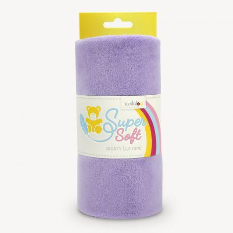 Tissu peluche Kullaloo shorty 1,5 mm lavande