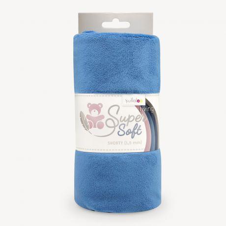 Tissu peluche Kullaloo shorty 1,5 mm bleu