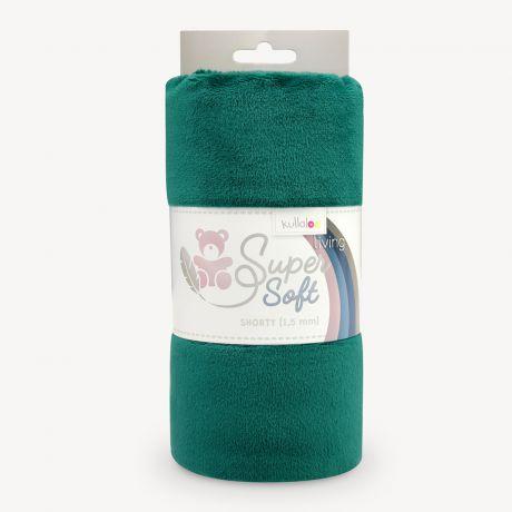 Tissu peluche Kullaloo shorty 1,5 mm vert