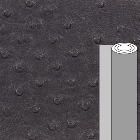 Coupon tissu simili cuir autruche 50 x 69 cm
