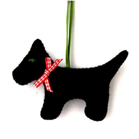 Mini kit feutrine le chien noir