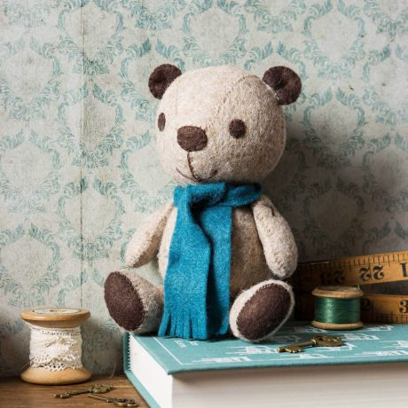Kit feutrine teddy vintage