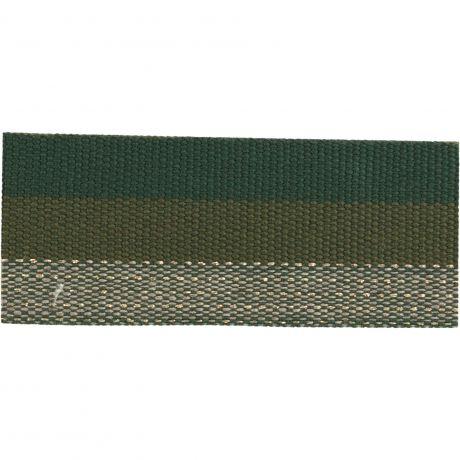 Ruban lin multicolore 30 mm