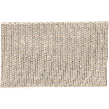 Ruban lin fil doré 30 mm