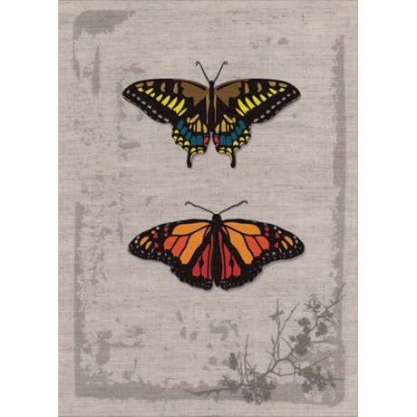 Papillons vintage