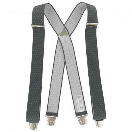 Bretelles tissées 35mm gris