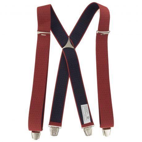 Bretelles tissées 35mm rouge