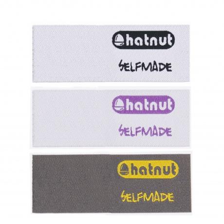 Hatnut étiquettes 12 pces